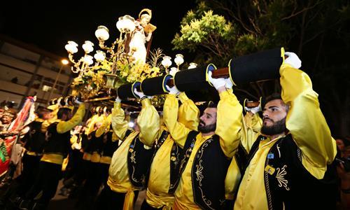 Moros Y Cristianos En Honor A San Antón