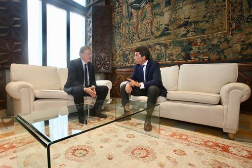 Carlos Mazón exige contundencia a Ximo Puig frente al Gobierno de España en materia de financiación, agua y turismo