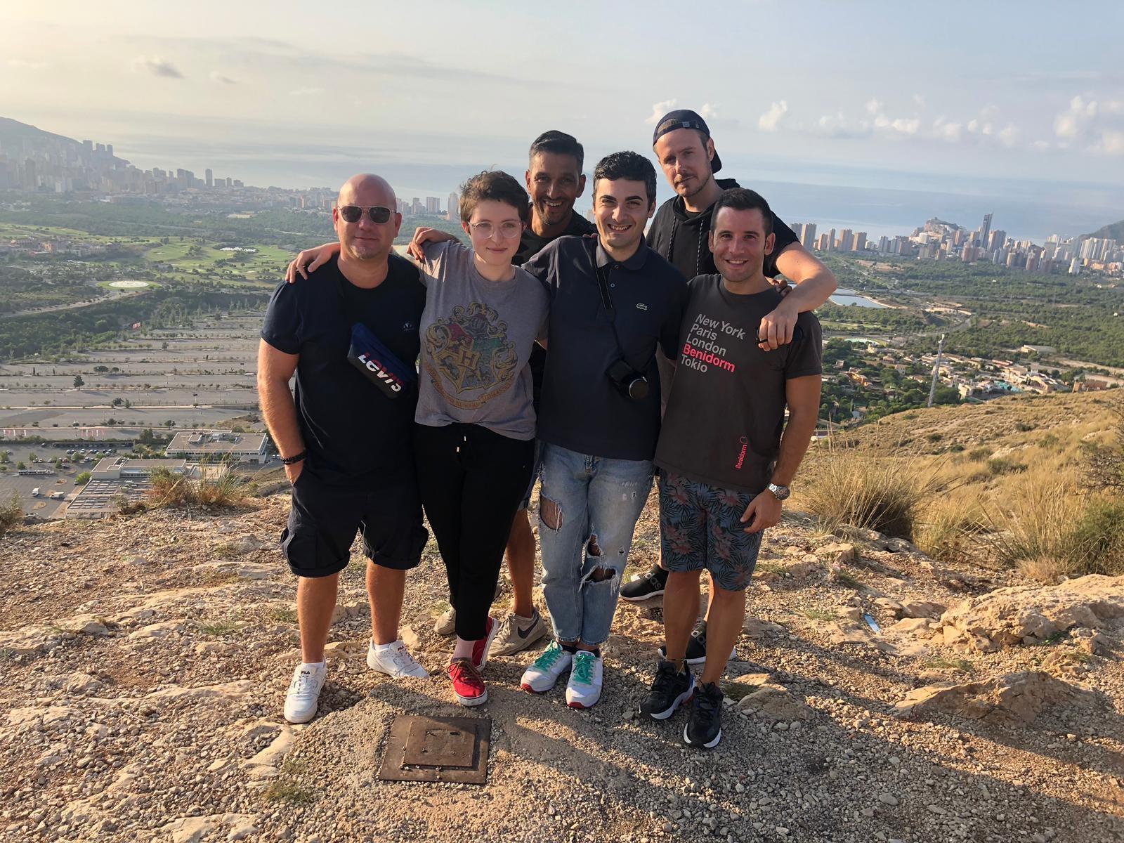Blogueros europeos visitan la Costa Blanca para participar en el 'Benidorm Pride Festival 2019'