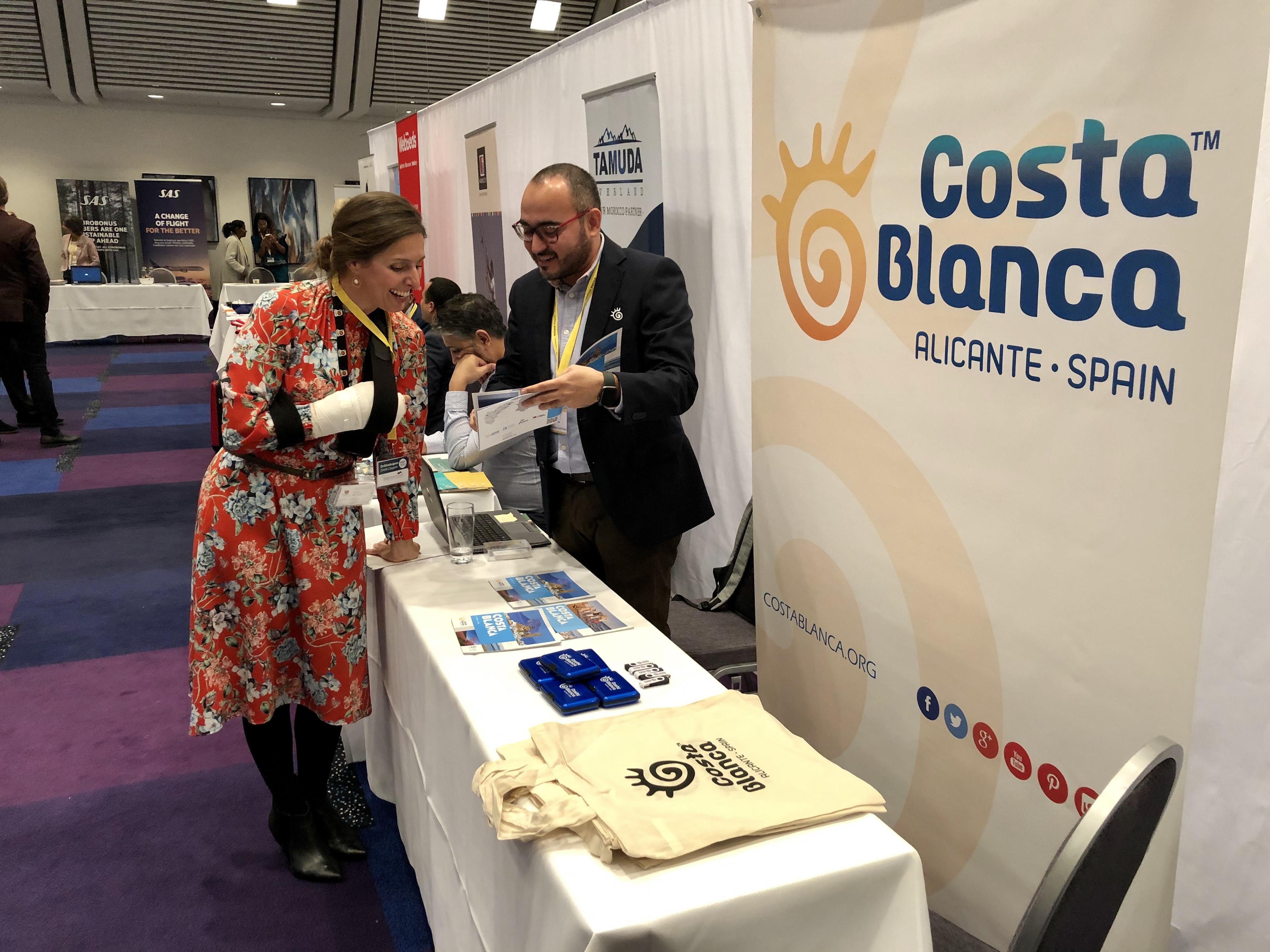 Costa Blanca promociona en Dinamarca la nueva ruta aérea que conectará Alicante con el país escandinavo en verano