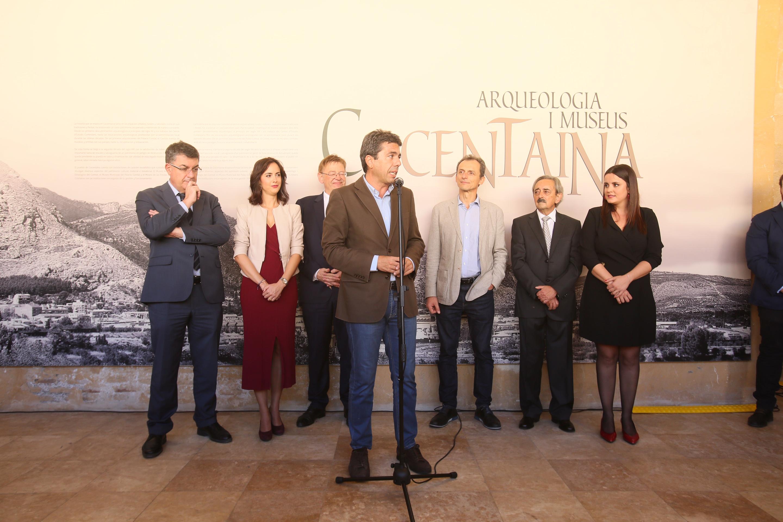 Carlos Mazón propone activar un convenio a tres bandas para promocionar la Fira de Tots Sants de Cocentaina