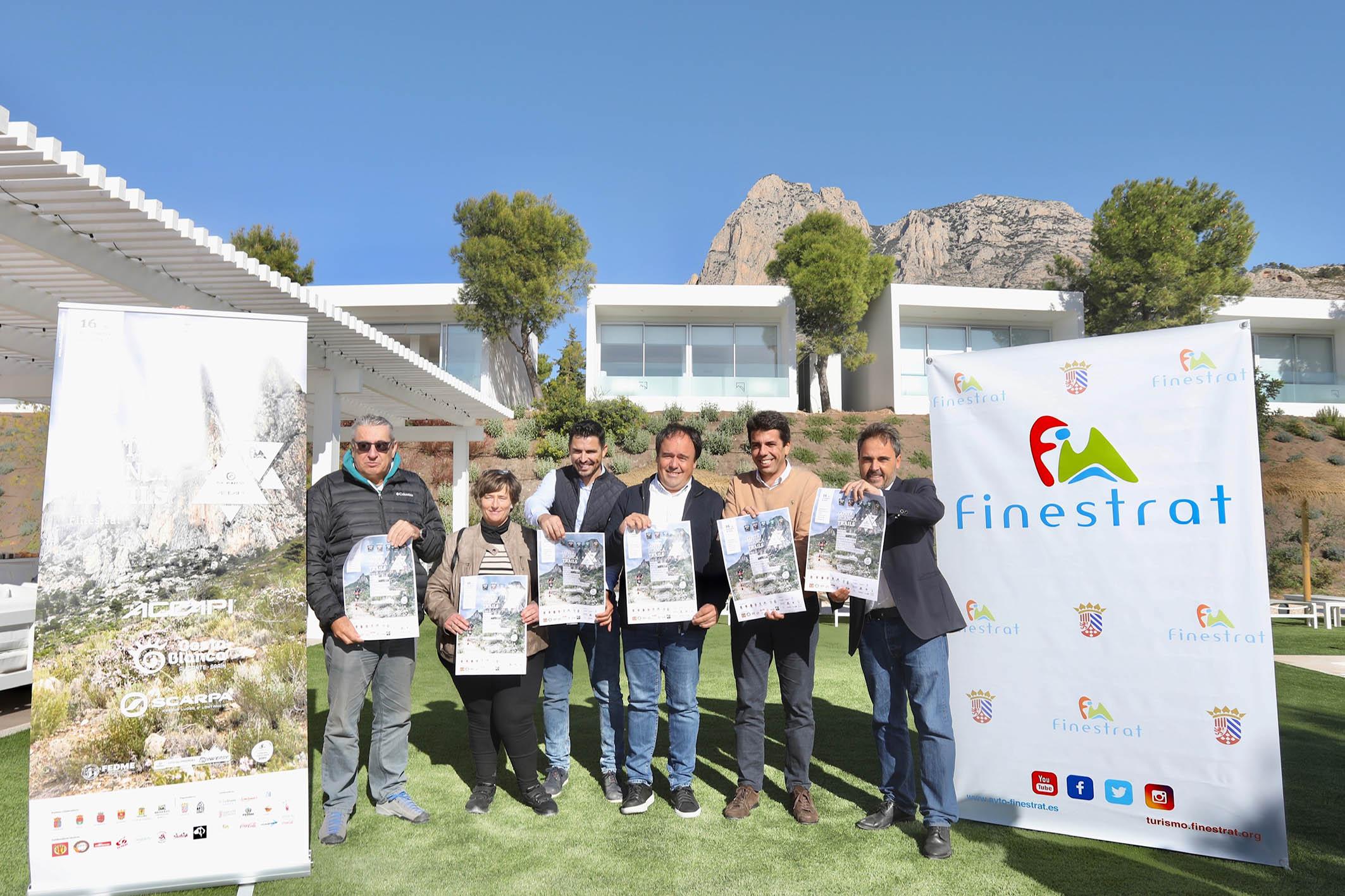 La Diputación de Alicante se vuelca en la carrera 'Costa Blanca Trails' en la que participarán más de 1.500 corredores.
