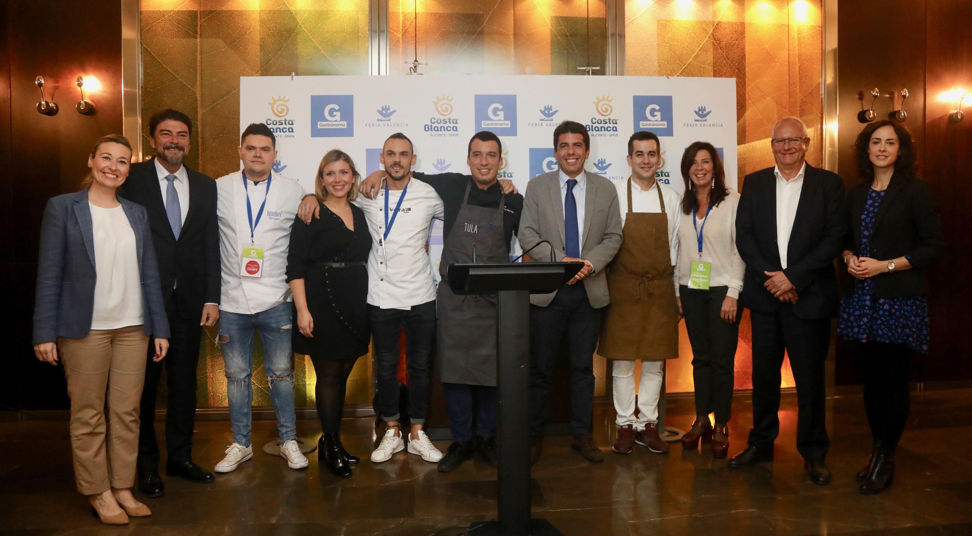 La Costa Blanca despliega en 'Gastrónoma 2019' su potencial culinario con 15 estrellas Michelin.