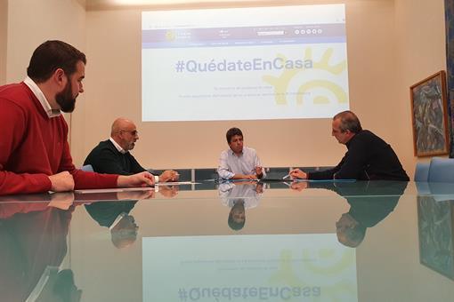 La Diputación de Alicante y la CEV preparan medidas para relanzar la economía provincial