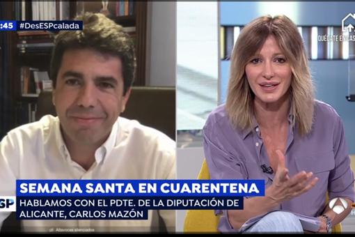 """Carlos Mazón propone un """"verano fiscal"""" para autónomos y empresas de la provincia."""