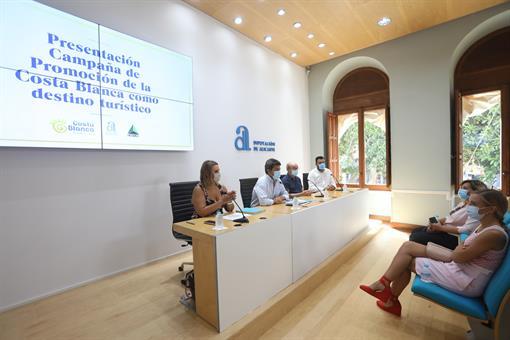 Diputación y HOSBEC lanzan una campaña extraordinaria para reactivar la llegada de visitantes y acelerar la recuperación del turismo